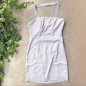 Angel Biba LF Lavender Lilac Rhinestone Mini Dress